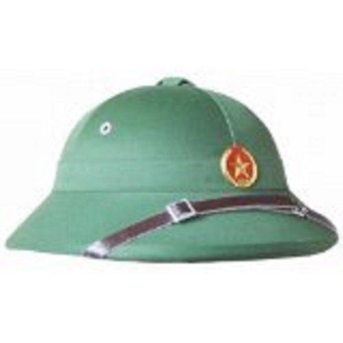 (North Vietnamese Style Pith Helmet)