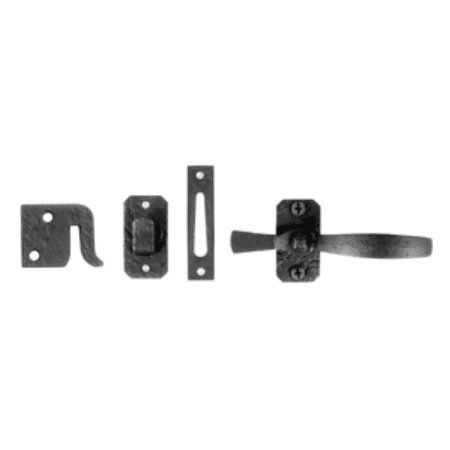Acorn Heavy Duty Quality Forged Crafted Hasp Bolts Latch Gate Latch (RL8BR)