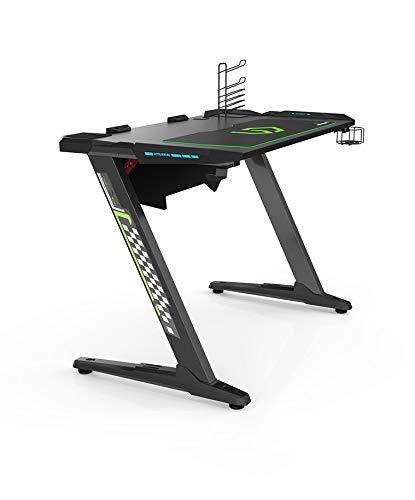 Ultradesk Space Gaming Tisch Gamer Desk Schreibtisch Mit Led