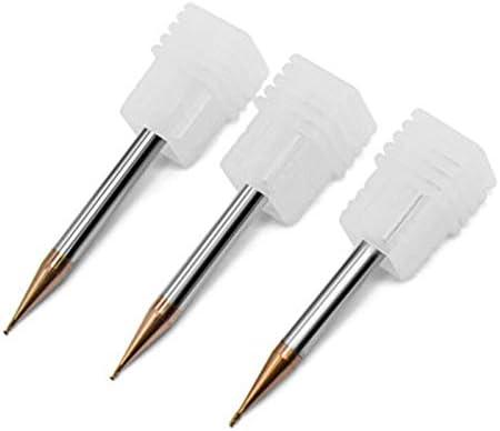 GENERICS LSB-Werkzeuge, 1 Teile/Satz HRC55 CNC schaftfräser Erweiterte Reichweite TiCN Beschichtete VHM Schaftfräser 0,2/0,4/0,5/0,6/0,8/0,9mm 2 Flöte (Cutting Edge Diameter : 0.7x4x50mm 2F)