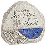 Pet Comfort and Light Memorial Stone (Dog Stone Cast)