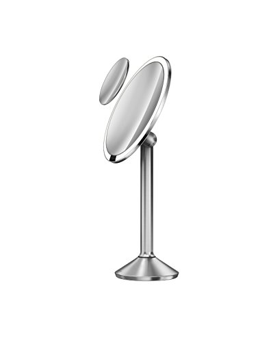 Simplehuman Sensor Mirror Pro 8 Inch Round Lighted Makeup