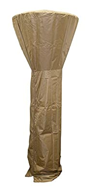 "Hiland PRM-T HVD-CVR-ECON Heavy Duty Tall Patio Heater Cover, 87"", Tan"