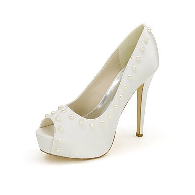 Buckle 4u Sko Sommeren Hollow Våren Null Satin Imitation For Purple Summer Peep Shoes Wedding Enkel out Stiletto Beste Pump Toe 4u Hul out Lilla For Pumpe Pearl Perle Imitasjon Spenne Bryllup Heel Basic Women's Toe Peep Satin Hæl Kvinners Stiletto Best Null Spring EFpSUqE