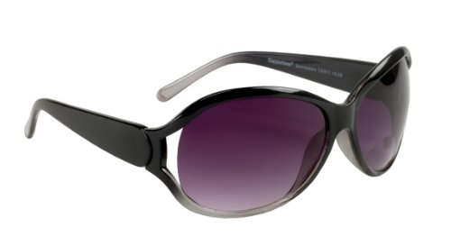 Select-a-Vision Coppertone Ladies Fashion Sunglass Readers, Black, - Reading Online Sunglasses