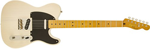 Squier by Fender Classic Vibe Telecaster Electric Guitar - Maple Fingerboard - Vintage Blonde