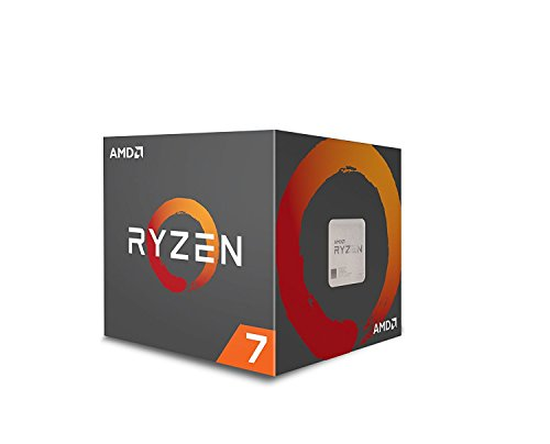 AMD Ryzen 7 1700 Processor with Wraith Spire LED Cooler
