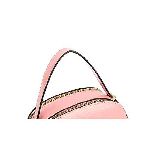 fonctionnels Sac Haute cuir à bandoulière grise sacs bandoulière pour Sac Petits glissière Pu diagonale femme Poche en souple AwqAznUrC