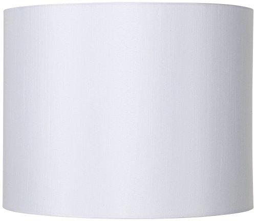 White Hardback Drum Lamp Shade 14x14x11 (Spider)