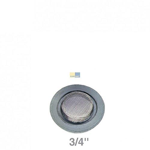 Waschmaschine Zulaufschlauch Dichtung 3/4 mit Sieb 25° Kaltwasser Europart 762222