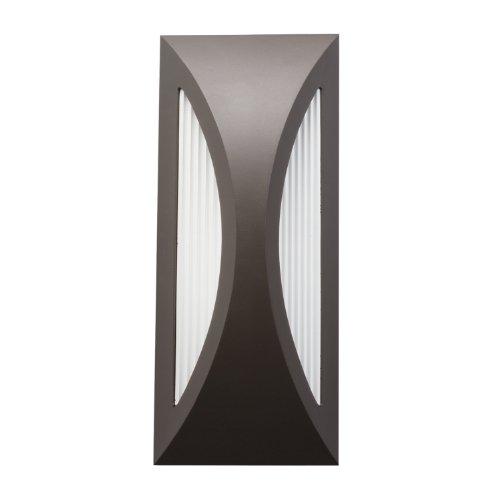 - Kichler 49494AZ Cesya Indoor/Outdoor Wall 1-Light LED, Architectural Bronze
