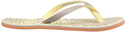 Adidas Donna Eezay Flip-flop Vapore Grigio Bianco / Facile Giallo S