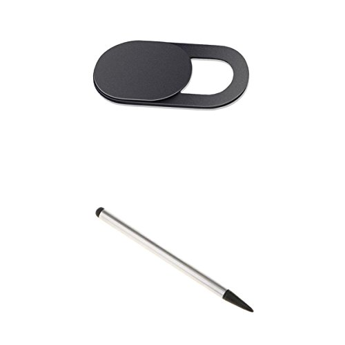 Touch Screen Slider - MagiDeal Webcam Camera Cover Slider Stick+Touch Screen Stylus Pens for Phone Tablet