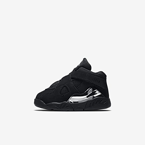 Nike Jordan Toddlers Jordan 8 Retro Bt Black/White/Lt Gra...