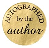 Large Autographed by the Author Stickers
