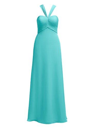 Semi Da Partito Da Blue Promenade Damigella Donna Innamorato Del Alicepub Vestito formale Sera Di Lungo Abiti Aqua wq48TOx