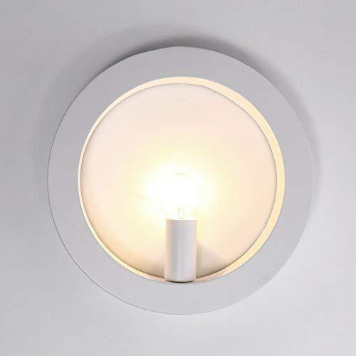 QSM Moderne minimalistische Innenwand-Licht-Befestigung, Chinee-Art Wandlampe Schlafzimmer Bedide Lampe Staircae Licht Chinee antike kreativere Wand-Lampe, 6101 + geführte Birne, Hintergrund-Wan