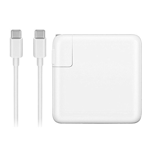 HOTON 29W USB C Power Adapter for Apple MacBook Pro 12 inch with USB C to USB C Charging Cable (for 2015 2016 Version)