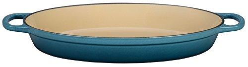 Stoneware Oval Baker (Le Creuset Enameled Cast Iron Signature 2.25QT. Oval Baker - Marine)