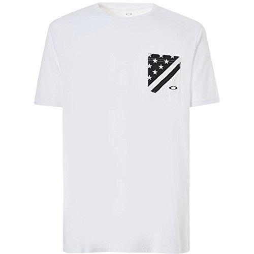 - Oakley Men's 50-Flag Pkt, White, L
