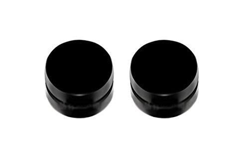 Black Earrings for Men Magnetic Black Earrings for Men Studs Black Earrings for Men 10mm