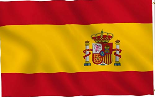 (Kaputar 3x5ft Flag of Spain 1938-1945 Super Poly Premium Flag 150D Polyester   Model FLG - 7346)