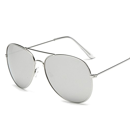 HANYI Premium Military Style Classic Aviator Sunglasses, Polarized, 100% UV protection(Include a Box Case) - Gift Card Refund Sunglass Hut
