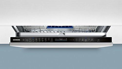 Siemens iQ500 SX758X06TE lavavajilla Totalmente integrado 14 cubiertos A+++ - Lavavajillas (Totalmente integrado, Tamaño completo (60 cm), Negro, Botones, TFT, 1,75 m): Amazon.es: Grandes electrodomésticos