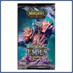 Warcraft Packs Booster Of World - World of Warcraft TCG WoW Trading Card Game Aftermath Throne of the Tides Booster Pack