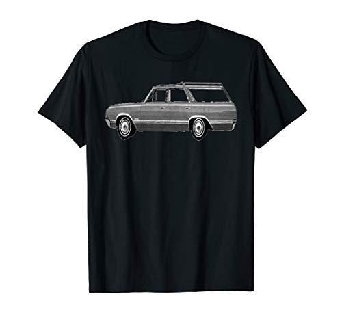 Retro Station Wagon T-Shirt (Best 4wd Station Wagon)