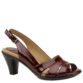 SoftSpots Women's Neima High-Heeled Slingback Sandals