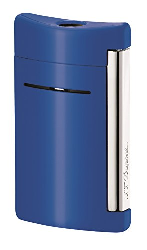ST Dupont MiniJet Cyan Blue Torch Flame Lighter by S.T. Dupont