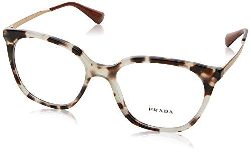 Prada Women's PR 11TV Eyeglasses White Havana 53mm