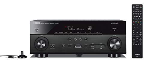 Yamaha RX-A780 AVENTAGE 7.2-Channel AV Receiver with MusicCast - Black (Best Yamaha Home Theater Receiver)