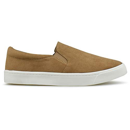 Fashion Slip Premier Everyday Easy Walking R Camel on Standard Shoe Casual Women's anwq0aB8