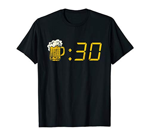 Beer Thirty T-shirt. Funny Drinking Or Getting Drunk ()