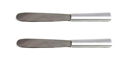 (Rada Cutlery Super Spreader Knife, Aluminum Handle, Pack of 2)
