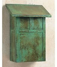 Arroyo Craftsman MMB-AC Mission Mail Box, Antique Copper Metal Finish by Arroyo Craftsman
