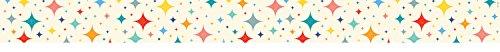 (Creative Teaching Press Mid-Century Mod Retro Stars Border (8497))