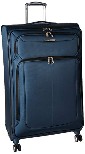(Samsonite Checked-Large, Mediterranean Blue)