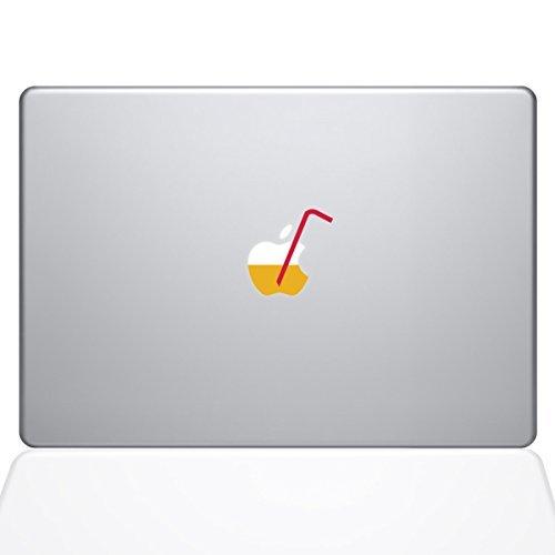 apple juice macbook air decal - 6
