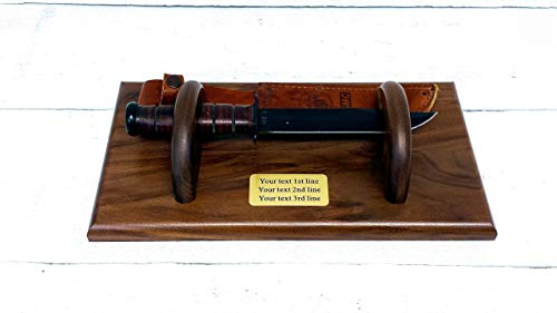 KA-BAR USMC Knife Display Holder