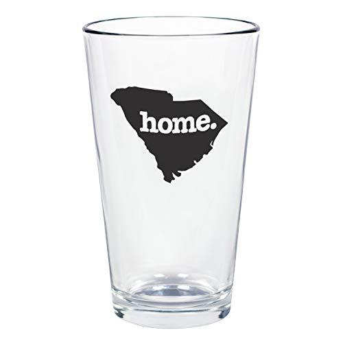 "Home State Apparel Set of 4 South Carolina""home."" Pint Glass"