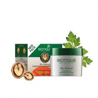 Biotique-Bio-Walnut-Purifying-Polishing-Scrub-For-Normal-To-Dry-Skin