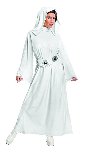 Rubie's Women's Star Wars Classic Deluxe Princess Leia Costume,White,X-Small ()
