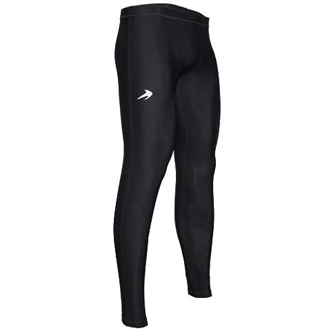 Compression Pants Men's Tight Base Layer Leggings, XXXL, Black