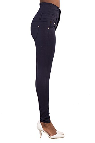 Lustychic Navy Lustychic Jeans Donna Navy Donna Jeans gnqgRrpz