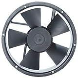 "MAA-KU AC Round Medium Kitchen Exhaust Fan SIZE : 870"" inches(22cm-Diameter x 6cm-) Black"