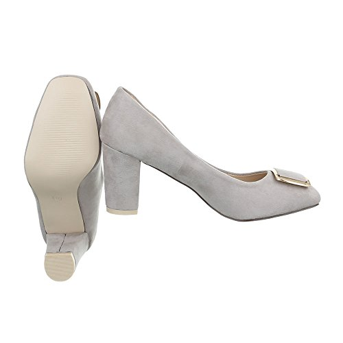 Ital-Design - Cerrado Mujer gris claro
