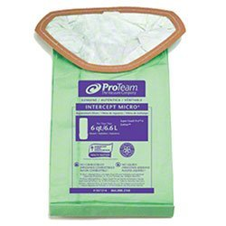 Zoom Supply Proteam 107314 Vacum Bags, Industrial-Grade Proteam SuperCoach Vacum Bags, SuperCoach Pro 6 Vacum Bag Filters -- Trap Dangerous Airborne Invisible Partciulates - Industrial Filter Bags